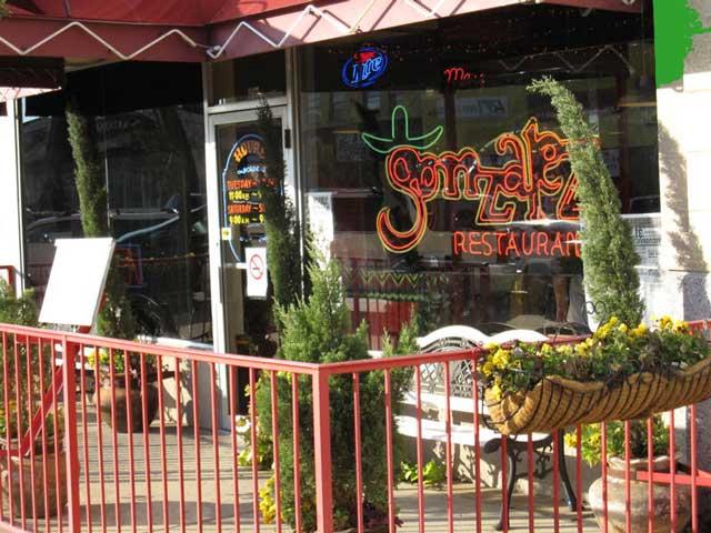Jefferson Location Gonzalez Restaurant A Dallas Tex Mex